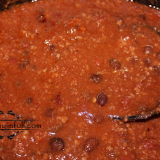 Crock Pot Bear Chili.