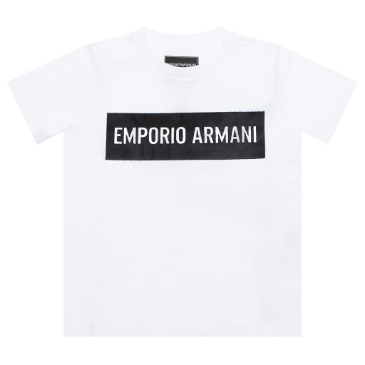 Thumbnail images of Emporio Armani Boys Jersey Top