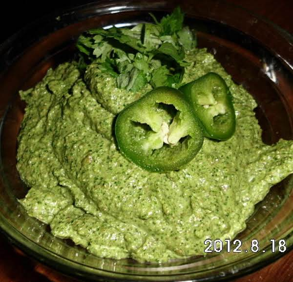 Cilantro Jalapeno Pesto Recipe