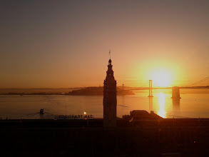 Photo: Overlooking the San Francisco Ferry Building at Dawn