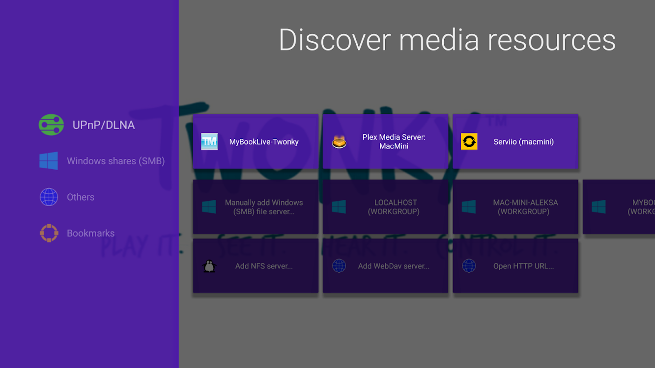 Vimu Media Player for TV – (Android Apps) — AppAgg