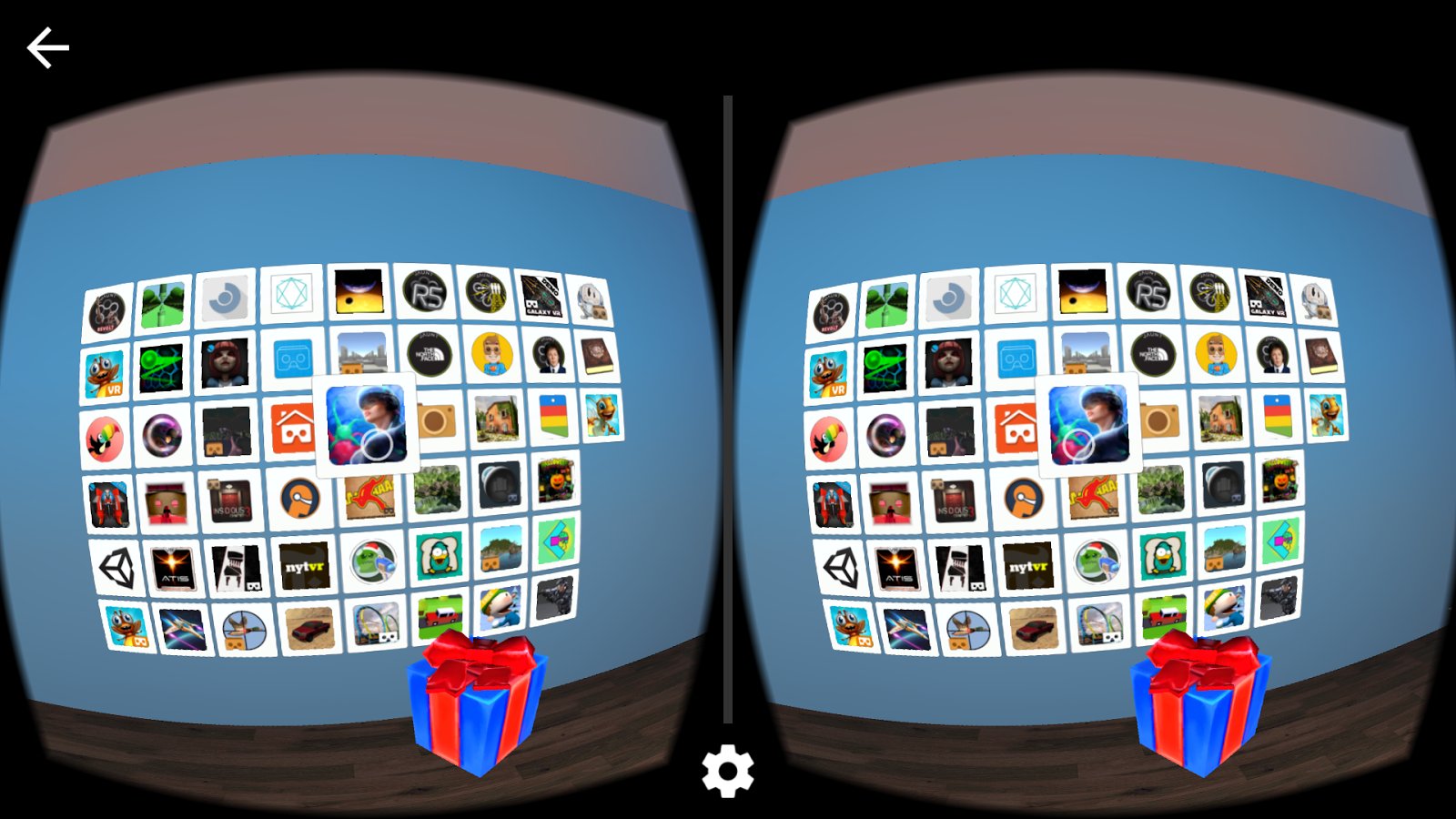 VR Launcher- screenshot