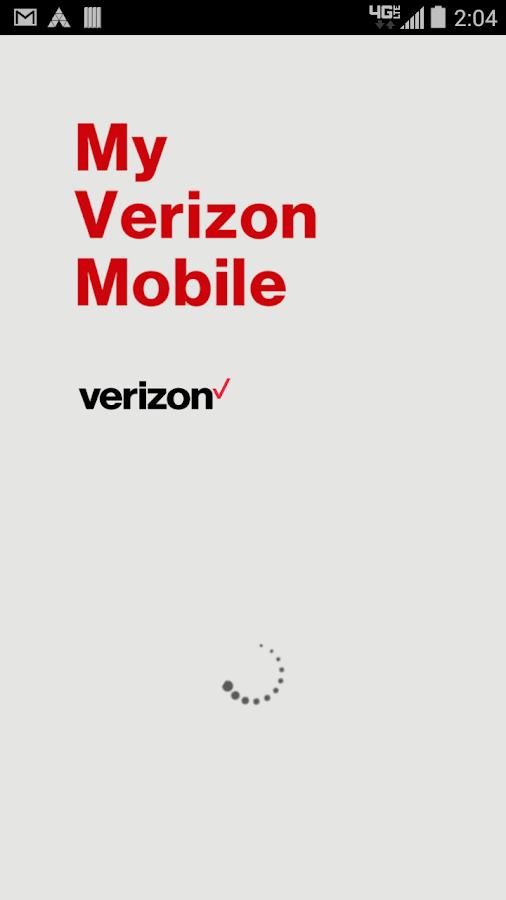 My Verizon Mobile- screenshot