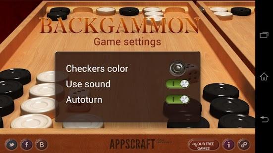 Backgammon Screenshot