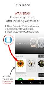 Watch Face PathTime v1.0