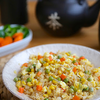 Easy Garlic Fried Rice