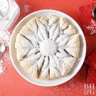 Snowflake Puff Pastry.