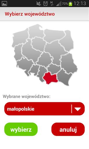 Regionalny System Ostrzegania screenshot 1