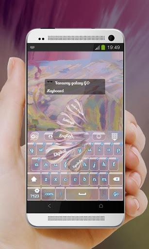 玩免費個人化APP 下載遥远的星系 GO Keyboard app不用錢 硬是要APP