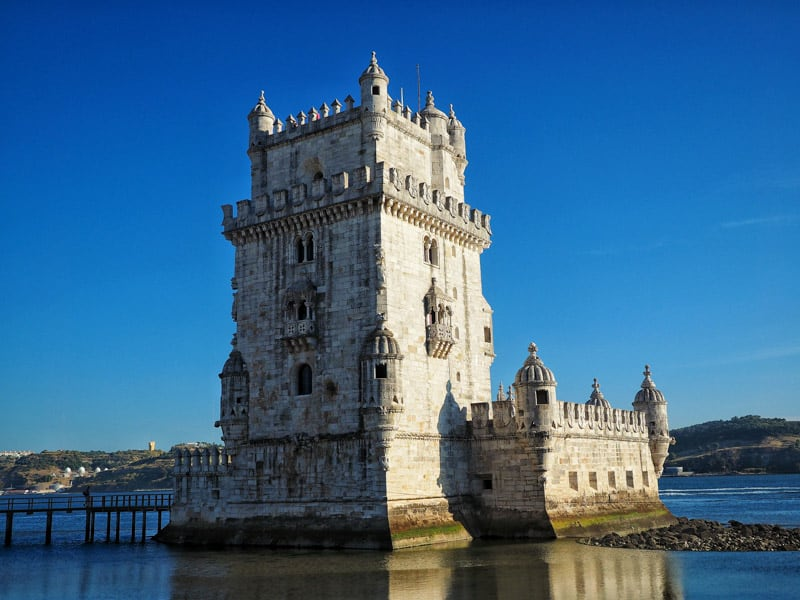 Belém Tower is a easy visit from Lisbon Portugal