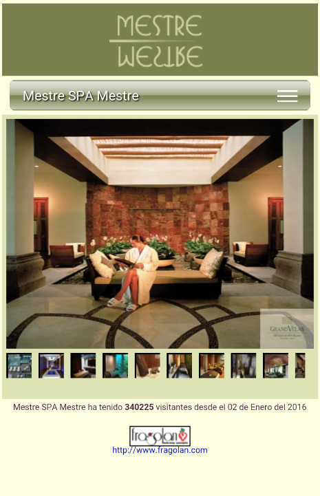 Mestre SPA- screenshot