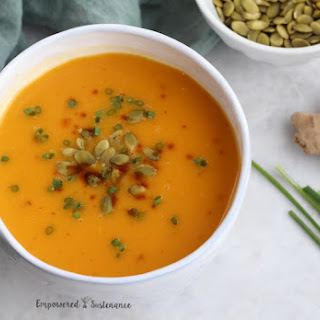 Butternut Pear Squash Soup Ginger Recipes