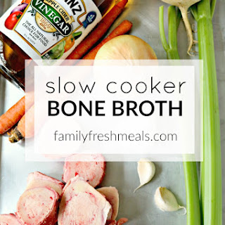 Slow Cooker Bone Broth.