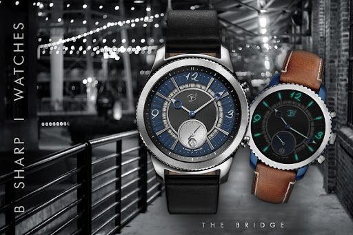 Download The Bridge - Luxury face for smart watches MOD APK 1