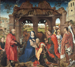 Photo: Rogier van der Weyden, Columba Altarpiece, C. 1455