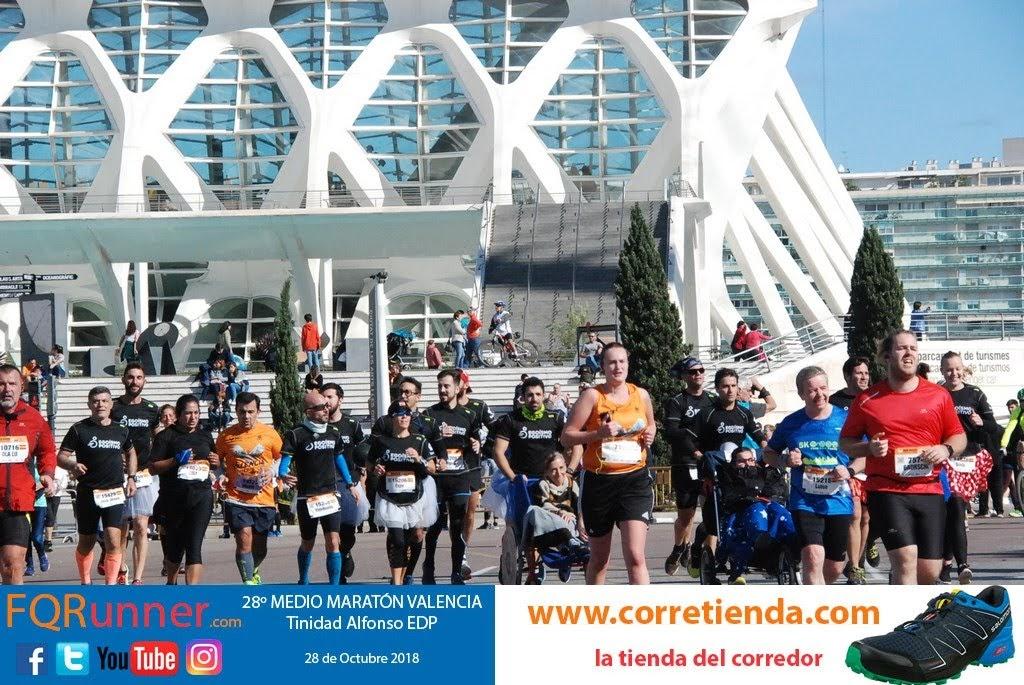 Egoísmo positivo en la Media Maratón de Valencia 2018