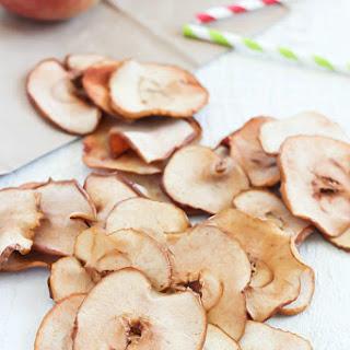 Homemade Apple Chips.