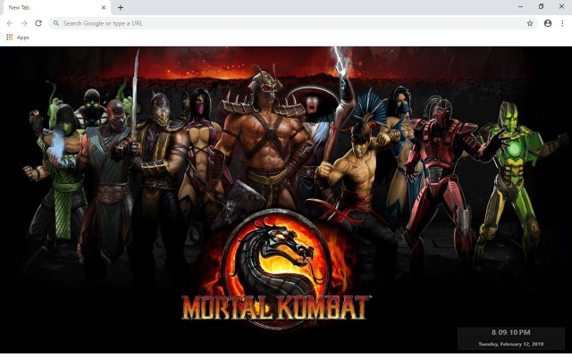 Mortal Kombat New Tab & Wallpapers Collection