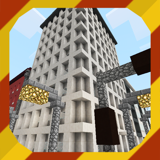 Tommycity. Map for MCPE