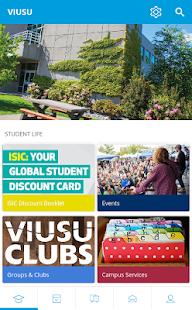 VIU Students' Union - náhled