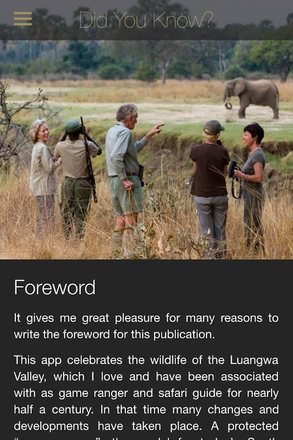 Did you know… African Wildlife- screenshot