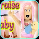 Raise a Cute crazy baby kid - Adopt Me Walkthrough icon