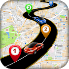 GPS Route Finder Guide Mapas icon