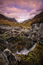 Photo: Glencoe, Highlands, Scotland  Canon EOS 5D, EF 17-40L @ 17mm, f/16, 2.5 seconds, ISO100, Lee ND Grad Filter, Polarizer, Tripod
