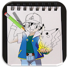 Learn How to Draw Pokemon Trainers icon