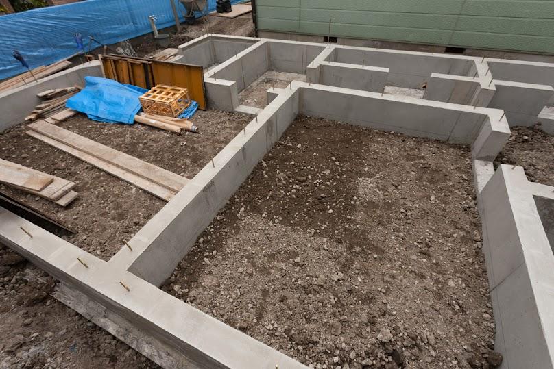 Najczęściej do budowy fundamentów stosuje się beton