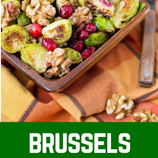 Brussels Sprouts with Cranberries and Walnuts