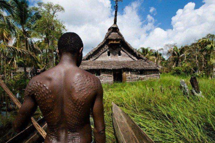 Tribal Traditions Scar Sepik
