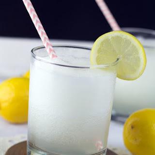 Boozy Cherry Lemonade Slushy
