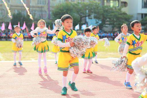107年崇學國小運動會照片