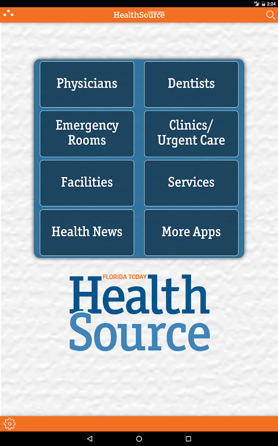 Brevard Health Source- screenshot