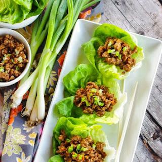 Copycat PF Changs Lettuce Wraps.