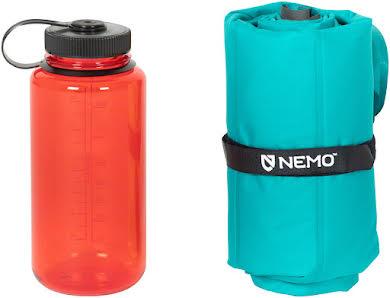 """NEMO Astro Insulated 20R Sleeping Pad: 20"""" x 72"""" Dark Verglas Teal alternate image 0"""