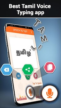 Download Tamil speech to Text – Tamil voice Typing APK latest