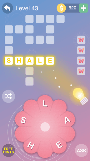 Word Flower - Connect Cross Word Game screenshot 7