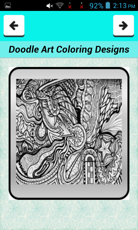 Doodle Art Coloring Designs - Android Apps on Google Play