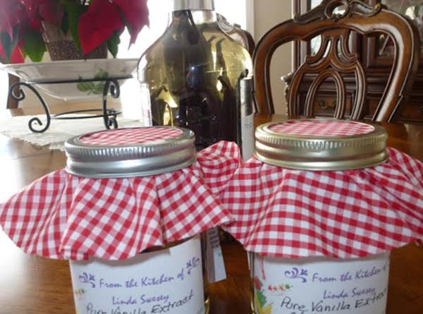 Make Your Own Vanilla Extract Recipe