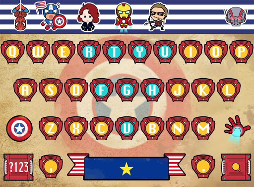 Civilwar for FancyKey Keyboard