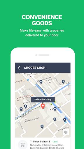 LINE MAN: Taxi, Food, Postal Apk apps 6