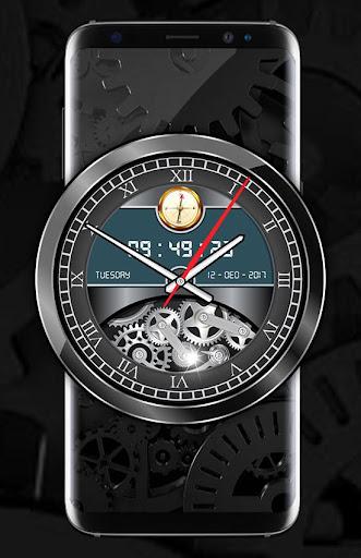 Luxury Watch Analog Clock Live Wallpaper Free 2018 2.3 screenshots 9