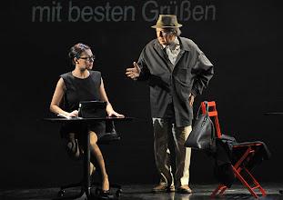 Photo: WIEN/ Kammerspiele: CHUZPE von Lily Brett. Premiere am 22.11.2012. Inszenierung: Dieter Berner. Sandra Cervik, Otto Schenk. Foto: Barbara Zeininger.
