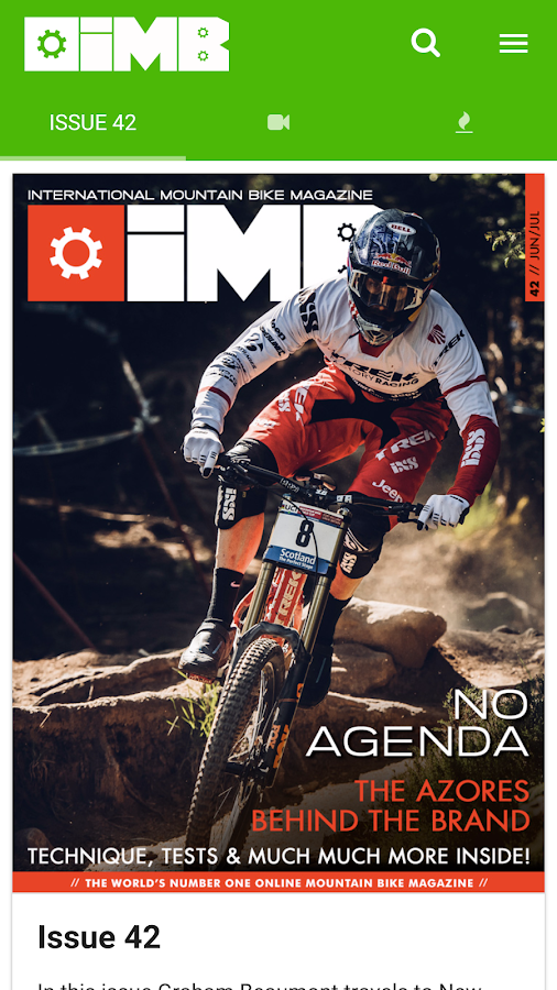 IMB Free Mountain Bike Mag- screenshot