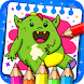 Monsters - Coloring Book & Games for Kids