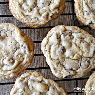 Soft & Chewy Classic Chocolate Chip Cookies.