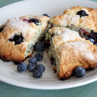 Cape Cod Blueberry Scones.