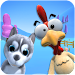 Talking Puppy And Chick Icon